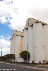 Peanut silos