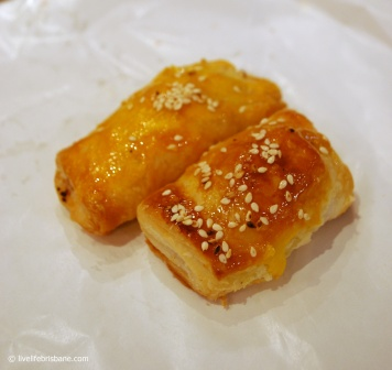 Cafe Mi's roast pork pastries