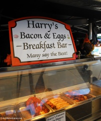 Who can say no to Bacon and Eggs on a Saturday morning?